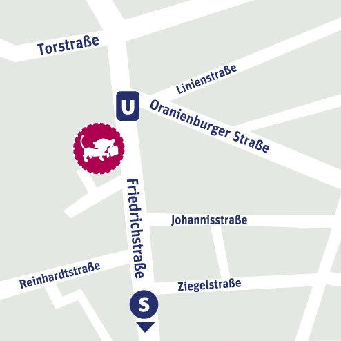 Kleine Gesellschaft - Friedrichstrasse