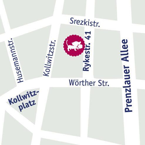 Kleine Gesellschaft - Karte Prenzlauer Berg