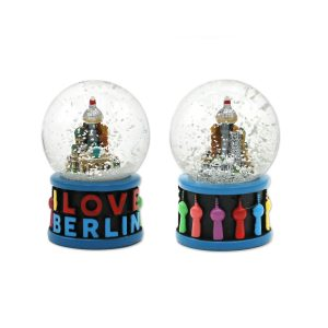 Schneekugel 'I love Berlin'.