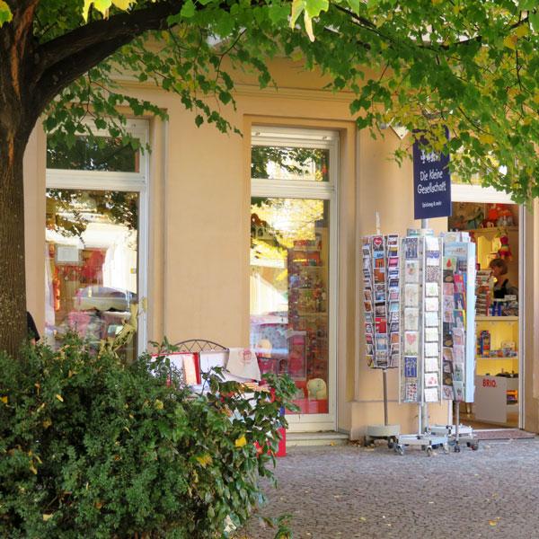 Die kleine Gesellschaft in der Rykestraße im Prenzlauer Berg